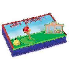 Amazon Angry Birds Party Supplies Cake Topper Decorating Kit