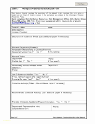 50 Unique Stock Employee Incident Report Form Template | Report ...