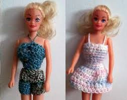 Barbie Doll Clothes Patterns Mesmerizing Free Crochet Barbie Clothing Patterns
