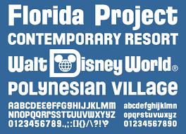 Disney Font Mickeyavenue Com Disney Fonts Florida Project