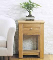 aston solid oak hidden. Aston Oak One Drawer Lamp Table Solid Hidden D