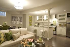 basement living room ideas. Simple Room Basement LivingRoomandKitchen  Like The Colors And Lighting To Basement Living Room Ideas R