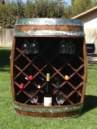 Image Diy Custom Made Wine Barrel Wine Rack Custommadecom Buy Hand Crafted Wine Barrel Wine Rack Made To Order From Wyld At