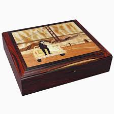 custom wood inlay keepsake jewelry box by dennis chenoweth