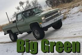 We Bought a 1985 Chevy K10: It's Big, Green, and Badass - The Fast ...