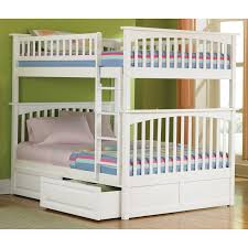 Atlantic Furniture Columbia Twin over Full Stairway Bunk Bed ...