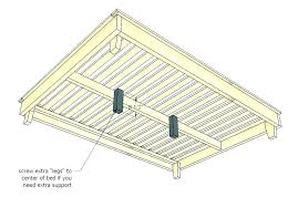Center Support For Queen Bed Frame Slats Adjustable Height Be Lowes
