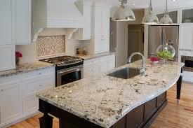Kitchen Granite Countertops With White Cabinets Eiforces - White granite kitchen