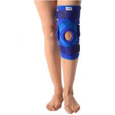 Vissco Hinged Knee Brace With Patella Opening Hinges Neoprene