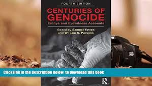 centuries of genocide essays and eyewitness accounts college  centuries of genocide essays and eyewitness accounts