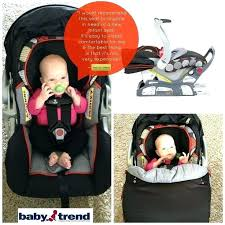 baby trend car seat without base infant 9 best hand held flex loc installation