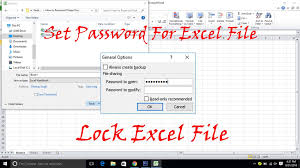 Encrypted Excel Files How To Password Protect Excel File 3 Methods Trick Xpert
