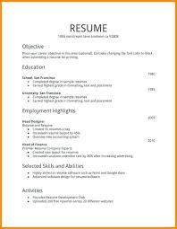 Job Resume Samples Extraordinary Resume Templates For First Job 28st Resume Templates Resume Examples
