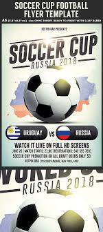 Russia Football World Cup 2018 Flyer Template | Russia Footb… | Flickr