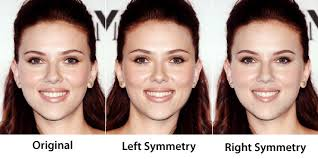 Image result for celebrities with symmetrical faces
