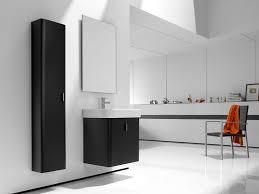 Bathroom High Cabinet Black Bathroom Furniture Raya Furniture