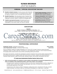 Sample Resume For Substitute Teacher Pin By Jobresume On Resume Career Termplate Free Pinterest 17