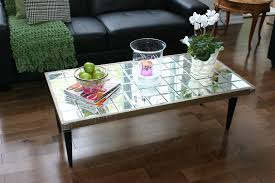 diy mirrored furniture. DIY Mirrored Coffee Table Diy Furniture