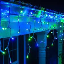 Blue Led Icicle Christmas Lights 70 Led Icicle Light String Light Led Icicle Lights