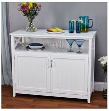 details about sideboards and buffets server furniture cabinets with glass doors white china