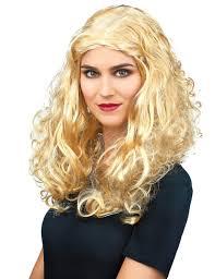 Blonde Krullen Pruik Voor Dames