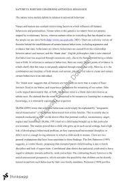 the nature verse nurture debate in relation to antisocial  the nature verse nurture debate in relation to antisocial behaviour essay