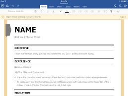 Resume Apps Resume For Study