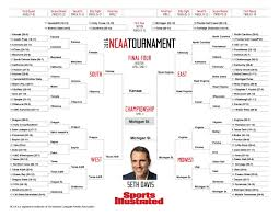 Ncaa Tournament Bracket Scores 2016 Ncaa Tournament Bracket Picks Final Four Regionals More