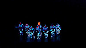 Tron Dance Lights Amazing Tron Dance Performed By Wrecking Orchestra