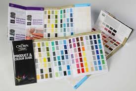 Crown Trade Colour Collection Colour Chart Crowns New Colour Guides Painting And Decorating News
