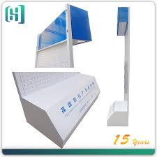 In Store Display Stands retail store white color point of sale display standproduct 59
