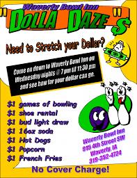 dolla daze family cosmic bowling