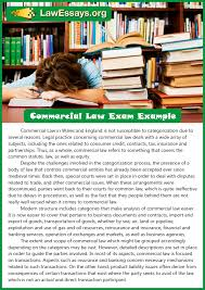 get commercial law essay examples online law essays essays example commercial law exam example
