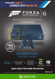ex 2016 list image brochure of microsoft xbox one forza motorsport 6 xbox