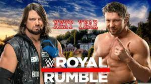 WWE ROYAL RUMBLE 2021 THIS MATCH BOOK POSTER - YouTube