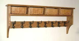 Coat Rack Oak Wall Coat Rack With Shelf Coat Rack With Shelf Unique Black Wall 26