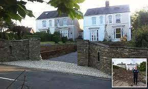 newton man to put back garden after