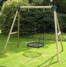 mercury nest wooden swing set