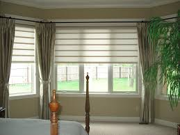 Stunning Blinds Bay Window Treatment Ideas makes House Terrific