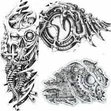 тату биомеханика биомеханические татуировки в стиле киберпанк