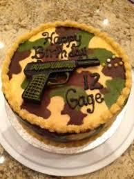 Image result for guns on cakes