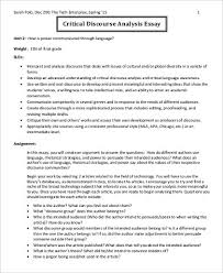 example of critical analysis essays co example