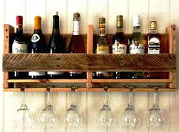 pallet wine glass rack. Diy Wine Rack Pallet With Glass Holder Photo Hanging Type