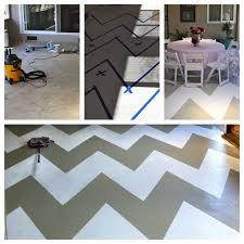 patio paint ideasZig Zag Painted Concrete Patio Floor Concrete Patio Floor In