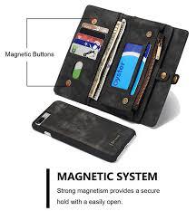 caseme 008 iphone 7 plus wallet case black 9 jpg