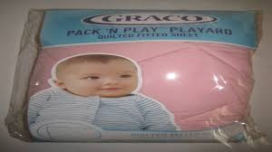 Graco Quilted Pack n Play Accessories Pink - YouTube & Graco Quilted Pack n Play Accessories Pink Adamdwight.com