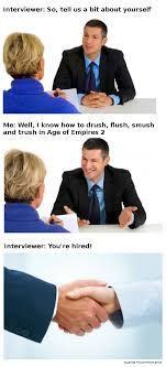 How To Be Successful In A Job Interview A Successful Job Interview 11 11 11 Aoe2