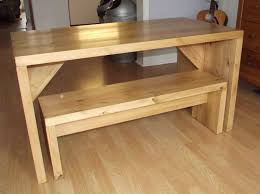 Bench Style Kitchen Tables Large Dining Table Natural Wood Dining Table Bench Dining