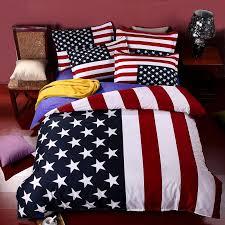 british flag american flag bedding set bed linen cartoon bedclothes duvet cover flat sheet pillowcase