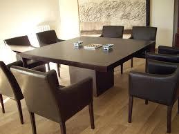 fancy square wood dining table furniture exquisite square dining table from solid wood house